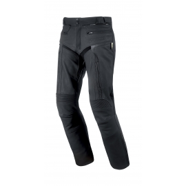 Pánské kožené moto kalhoty Spark Motostar, černé