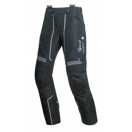 Dámské textilní moto kalhoty Spark Nora černé - 2XS