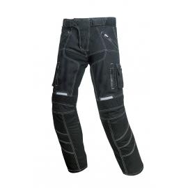 Pánské textilní moto kalhoty Spark Pero, černé