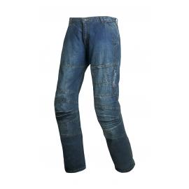 Pánské džínové moto kalhoty SPARK TRACK, modré