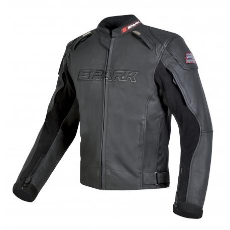 Pánská kožená moto bunda Spark Motostar - S