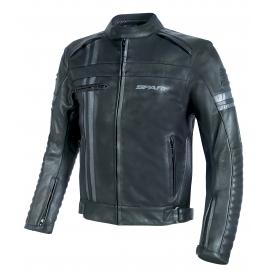 Pánská kožená moto bunda Spark Brono Evo, černá