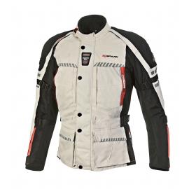 Pánská textilní moto bunda Spark Escape, šedá