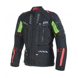 Pánská textilní moto bunda Spark Expedition, černá bez příbalu