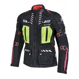 Dámská textilní moto bunda Spark Lady Expedition, černá