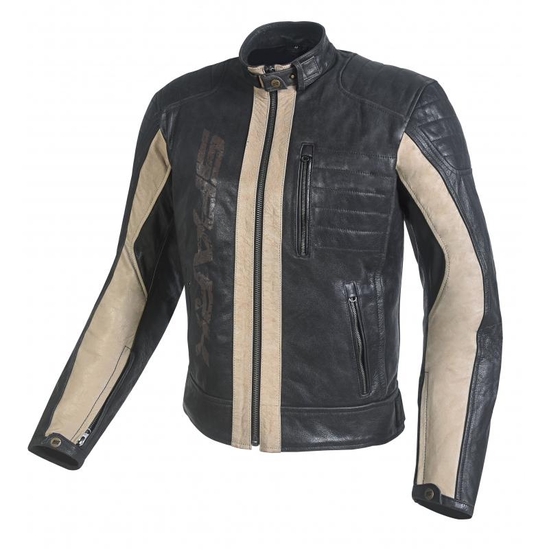 aff0c91ec338 Pánská kožená moto bunda Spark Hector