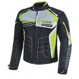 Pánská textilní moto bunda Spark Mizzen, Fluo