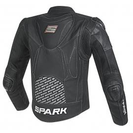 Pánská kožená moto bunda Spark ProComp, černá