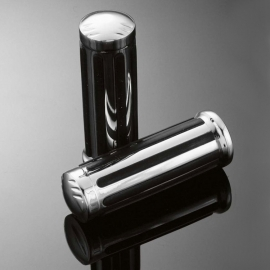 Gripy 25mm Highway Hawk LEGEND, chrom/černá (2ks)