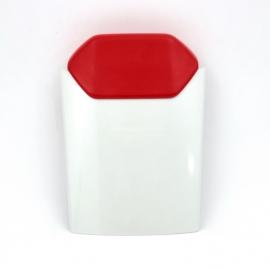 Kryt místo sedla spolujezdce Yamaha YZF-R1 ´98, červená/bílá