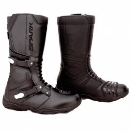 Cestovní moto boty Spark Raiden, černé - 42