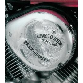 Highway Hawk Kryt vzduchového filtru LIVE TO RIDE pro motocykly HONDA VT750C2 ACE