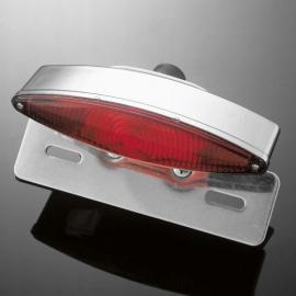 Sklíčko pro koncové světlo motocyklu Highway Hawk TECH GLIDE, červená (1ks)