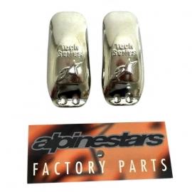 Ocelové kování na patu moto boty Alpinestars TECH 8