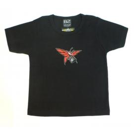 Dámské triko B2 Motýl vel.S černé