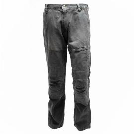 Pánské motocyklové kalhoty Held FAME, délka 34, textilní - jeans vzhled, černé, kevlar