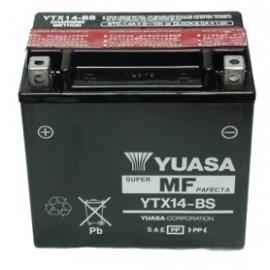 Baterie YUASA 12V 12Ah  YTX14-BS (dodáváno s kyselinovou náplní)