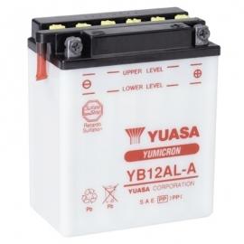 Baterie YUASA 12V 12Ah  YB12AL-A (dodáváno bez kyselinové náplně)