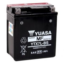 Baterie YUASA 12V 6Ah YTX7L-BS (dodáváno s kyselinovou náplní)