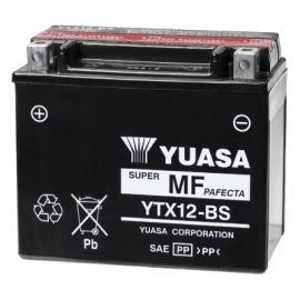 Baterie YUASA 12V 10Ah  YTX12-BS (dodáváno s kyselinovou náplní)