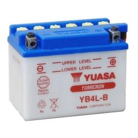 Baterie YUASA 12V 4Ah YB4L-B (dodáváno bez kyselinové náplně)