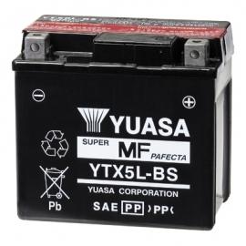 Baterie YUASA 12V 4Ah YTX5L-BS (dodáváno s kyselinovou náplní)