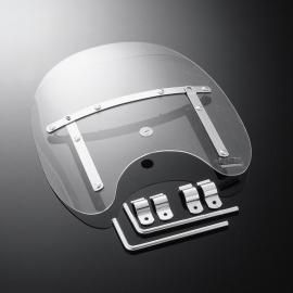 Plexi Highway Hawk USA STYLE malý, univerzální, na řidítka 22/25mm, čiré