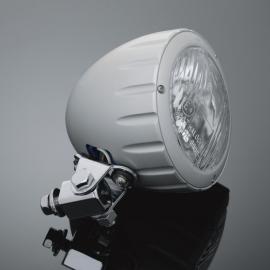 Přídavné moto světlo Highway Hawk, natočení o 90°, E-mark, satin (1ks)
