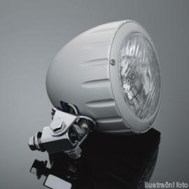 Přídavné moto světlo Highway Hawk, natočení o 90°, E-mark, chrom (1ks)