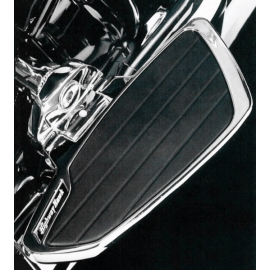 Plotny spolujezdce Highway Hawk SMOOTH pro motocykly HONDA a KAWASAKI (pár)