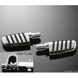 Stupačky Highway Hawk TECH GLIDE, U-objímka 22/25mm (pár)