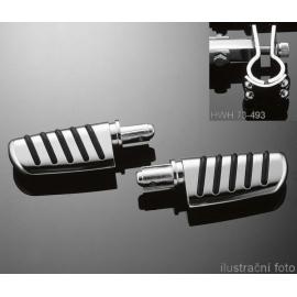 Stupačky Highway Hawk TECH GLIDE, extra silné objímky 25mm (pár)