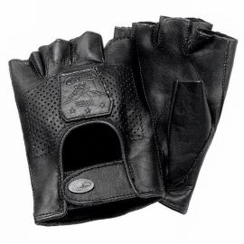 Chooper rukavice Held FREE, kůže, černé (pár)