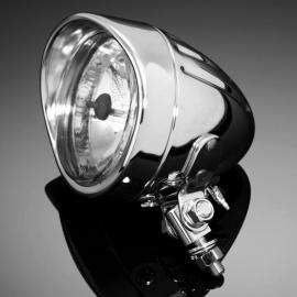 Přídavné moto světlo Highway Hawk TECH GLIDE, d90mm, E-mark, chrom (1ks)