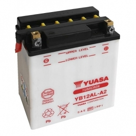Baterie YUASA 12V 12Ah  YB12AL-A2 (dodáváno bez kyselinové náplně)