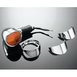 Highway Hawk Štítky na originální blinkry pro motocykly SUZUKI a YAMAHA XV1700 (2ks)