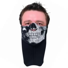 Nákrčník s maskou Held SKULL (motiv lebky)