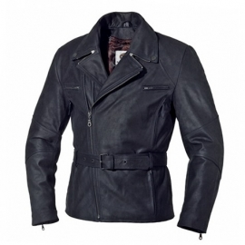 Pánská motocyklová bunda Held MULDER, černá, kůže
