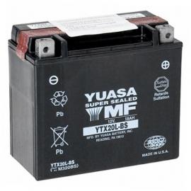 Baterie YUASA 12V 18Ah  YTX20L-BS (dodáváno s kyselinovou náplní)