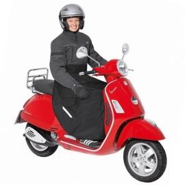 Nepromokavá (zateplená) pláštěnka/deka Held na scooter, černá, textil