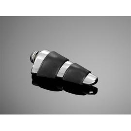 Pedál řadící/brzdové páky Highway Hawk SMOOTH univerzální, chrom (2ks)