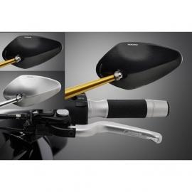 Zpětné zrcátko Rizoma RADIAL NAKED, univerzání, E-mark - LEVÉ nebo PRAVÉ pro motocykly, hliník