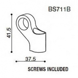 Závitová redukce BS711 pro zpětná zrcátka RIZOMA pro univerzální použítí a pro BMW, DUCATI a MV AGUSTA (1sada)