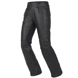Dámské motocyklové kalhoty Alpinestars V-TWIN černé, kůže - Záruka na zboží 1rok