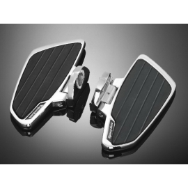 Plotny řidiče Highway Hawk SMOOTH pro motocykly SUZUKI VS400/600/750/800/1400 Intruder (pár)