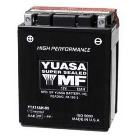Baterie YUASA 12V 12Ah  YTX14AH-BS (dodáváno s kyselinovou náplní)