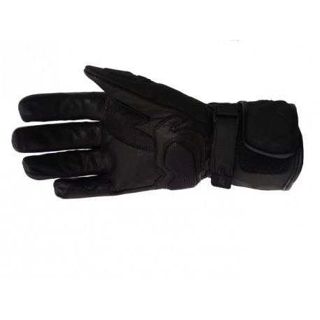 Pánské kožené moto rukavice Spark GT, černé