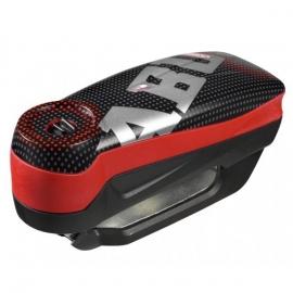 Zámek na kotoučovou brzdu s alarmem ABUS Detecto 7000 RS1 Pixel red