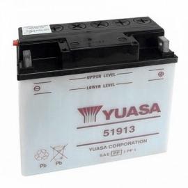 Baterie YUASA 12V 19Ah  51913 (dodáváno bez kyselinové náplně)