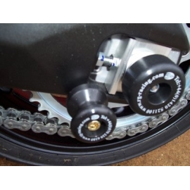 Chrániče kyvné vidlice - Yamaha FZ-1/Fazer 1000 '06-, černé